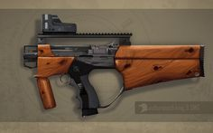 Another different Sub Machinegun design.