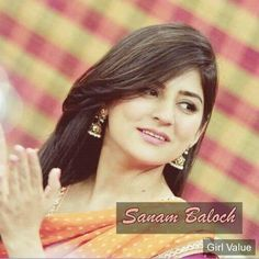 Sanam Baloch in Ary news morning show beautiful hair style