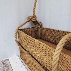 Laundry Basket, Wicker Baskets, Kos, Home Decor, Decoration Home, Room Decor, Laundry Baskets, Woven Baskets, Interior Decorating