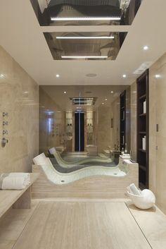 Nadire Atas on Scandinavian Bedrooms / Home Design Idea Beautiful And Cozy Modern Bathroom Design Ideas Dream Bathrooms, Dream Rooms, Beautiful Bathrooms, Modern Bathroom, Luxury Bathrooms, Modern Bathtub, Small Bathroom, Luxury Bathtub, Bathroom Tubs