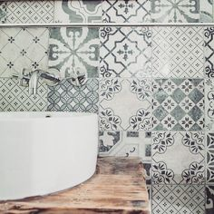 Handmade tiles can make your bathroom look beautiful!  Visit our website http://ift.tt/1UKjxlU  #building #architecture #design #city #interior #beautiful #london #archilovers #modern #architecturelovers #architect #archdaily #picoftheday #photooftheday #instagood #architettura #perspective #tiles #bathroom #pattern #mosaic #art #decor #interiordesign #kitchen #ihavethisthingwithfloors #fromwhereistand #ceramics #patterns #tileaddiction by overallsarchitecture