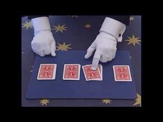 Simple Magic Tricks for Kids - Four Ace Card Trick Revealed by Brisbane Magician Card Tricks For Kids, Learn Card Tricks, Learn Magic Tricks, Magic Tricks For Kids, How To Make Magic, Easy Magic, Simple Magic, Magie Party, The Magicians