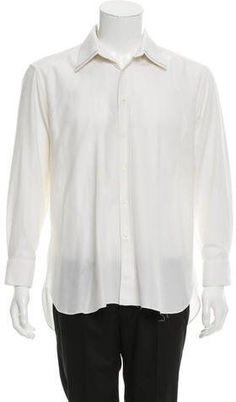 Steffano Ricci Long Sleeve Button-Up Shirt