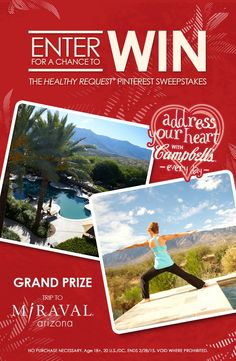Enter for your chance to WIN an adventure of a lifetime and other daily prizes at www.addressyourheart.com.