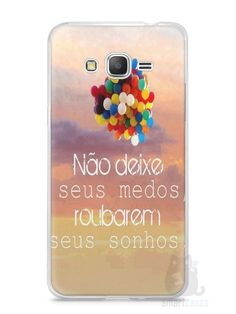 Capa Samsung Gran Prime Frase #3 - SmartCases - Acessórios para celulares e tablets :)
