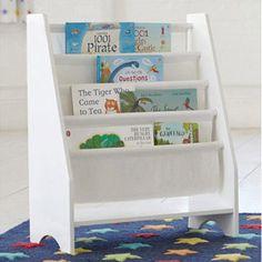 Star Patterned Book Sling Kids Childrens Reading Bookshelf