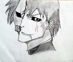 Hollow Ichigo Drawing