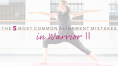 The Five Most Common Alignment Mistakes in Warrior II https://yogainternational.com/article/view/the-five-most-common-alignment-mistakes-in-warrior-ii#.V17OewBy5oU.twitter
