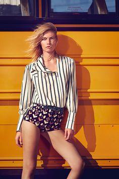 Aline Weber by Gustavo Zylbersztajn for Elle Brazil October 2015 11