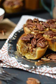Bourbon Pecan Pies -