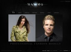 Model Agency HTML5 Template by Dynamic Template