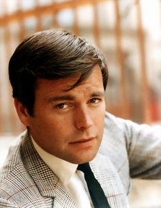 Robert Wagner--Watching old Hart to Hart reruns. Forgot how stunningly good-looking Robert Wagner was in that series.