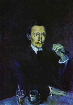 Pablo Picasso. Portrait of Soler. 1903 year