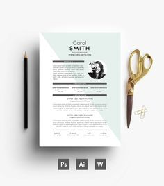 Resume Cover letter/ 3 page Resume/ Custom/ by EmilyARTboutique