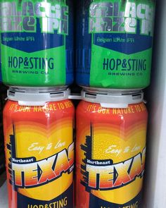 Hop and Sting beers are back in stock at Midway Mart and at Midway Craft House!!! Galactic IPA  and  NorthEast Texas IPA.  #unt #twu #Denton #northtexas #dentoning #drinklocal #craftbeer #midwaymart #specialtybeer #gmg #beerdrinkerssociety #ilovecraft #drinkcraft #craftbeernerd #dentontx #onlyindentontx #WDDI #downtowndenton #frystreetdentontx #den10 #cheersintothecraftrevolution @hopandsting