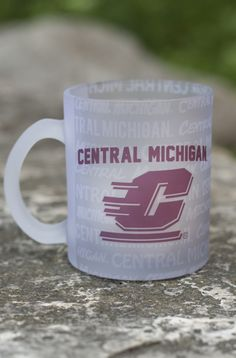 Central Michigan Flying C Multi-Words Frosted 11oz Mug