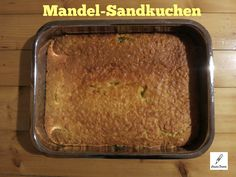 Mandel-Sandkuchen