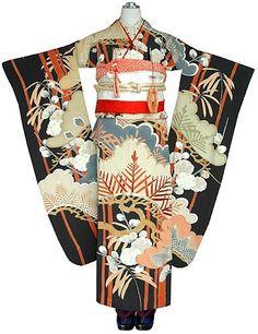 "traditionalclothingofourworld: ""http://ift.tt/1IVe0Cg - antique kimono for wedding """