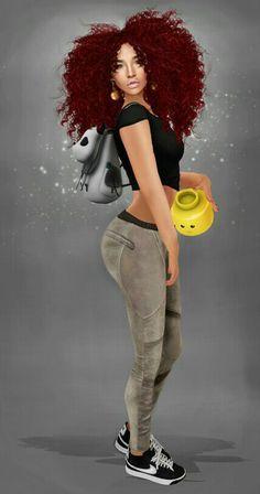 NATURAL HAIR ART http://www.shorthaircutsforblackwomen.com/natural-hair-style_pictures/
