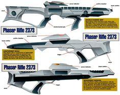Phaser rifles, 2370's