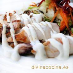Chipirones a la plancha » Divina CocinaRecetas fáciles, cocina andaluza y del mundo. » Divina Cocina