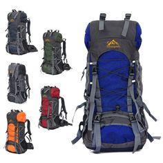 29.89$  Watch now - https://alitems.com/g/1e8d114494b01f4c715516525dc3e8/?i=5&ulp=https%3A%2F%2Fwww.aliexpress.com%2Fitem%2F60L-Large-Waterproof-Travel-Bags-new-2016-Rucksack-Men-Nylon-Outdoor-Camping-Hiking-Backpacks-Bag-Sport%2F32685755936.html - 60L Large Waterproof Travel Bags Rucksack Men Nylon Outdoor Camping Hiking Bicycle Backpacks Bag Sports women Climbing Backpack