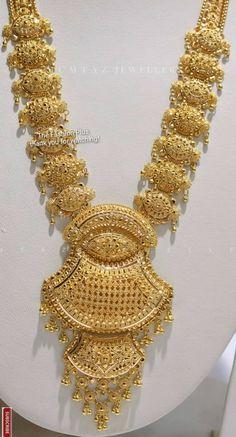 Gold Wedding Jewelry, Bridal Jewellery, Bridal Necklace, Gold Jewellery, Gold Necklace, Pakistani Henna Designs, Boho Fashion, Fashion Jewelry, Royal Indian