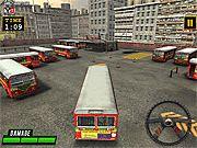 Autobuze de condus si parcat 3d - Jocuri cu masini