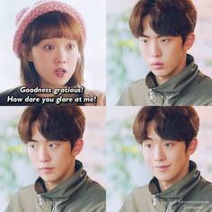 Hahaha so kyuttt Kdrama Memes, Funny Kpop Memes, Movie Memes, Weightlifting Fairy Kim Bok Joo Funny, Weightlifting Kim Bok Joo, Korean Drama Funny, Korean Drama Quotes, Drama Film, Drama Movies