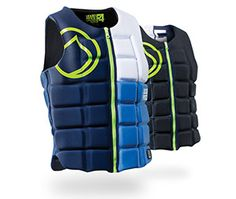 The LF FLEX comp vest proves that you can have it all! The FLEX is easy to get on, provides excellent impact protection and flexes like a champ. Front zipper gets you on the water fast! Reversible!