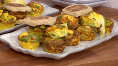 Simple muffin tin frittatas are the perfect a kid-friendly, on-the-go breakfast