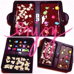 Calendrier de l'Avent - Jour 19 - Offrir des plaques de chocolat maison troooo bonnes! - Oups... I Did It Myself !
