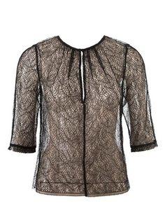 108-112015-B, burda style, Spitzen-Bluse, Nähen