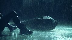 """I'm sorry."" I sigh as I lean back. He coughs in the rain and rolls over"