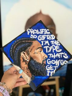 Custom Graduation Caps, Grad Cap, J Cole, You And I, The Dreamers, Thats Not My, Original Paintings, Hand Painted, How To Get
