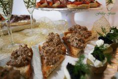 Creamy Mushroom Toast   New Year's Eve Recipes