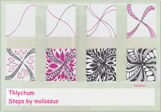 Thlychum-Tangle Pattern by molossus, who says Life Imitates Doodles, via Flickr