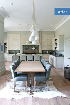 The Dream House Part Kitchen restoration {Kitchen before & after makeover pr. The Dream House Part Restauration de la cuisine . Narrow Living Room, Living Spaces, Home Design, Design Ideas, Modern Country Style, Country Life, Elegant Kitchens, Kitchens Uk, Home Fashion