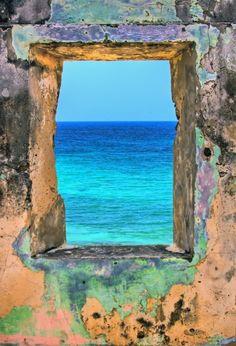 ventana al mar