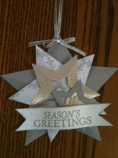 color variations on the star ornament by Lisa Renee Wiley
