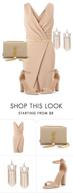 """I'm an boss"" by lovemelikeyourlast ❤ liked on Polyvore featuring Miss Selfridge, Yves Saint Laurent, women's clothing, women, female, woman, misses and juniors"