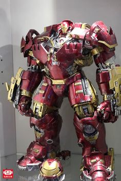 1 / Hulkbuster Scale Iron Man figure: Avengers A. Hot Toys Hulkbuster, Iron Man Hulkbuster, Iron Men, Iron Man Suit, Iron Man Armor, Marvel Dc Comics, Marvel Heroes, Hulk Buster, Hot Toys Iron Man