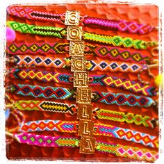 Dana Levy Alphabeta friendship bracelets, coachella festival must have!