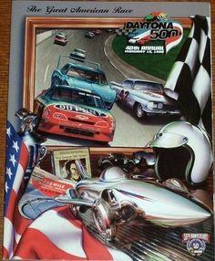 Vintage Racing Program 40th Daytona 500 1998 50th NASCAR Anniversary Magazine