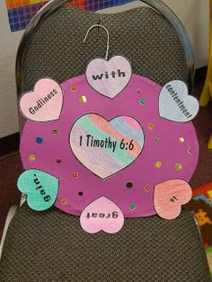 Coat Hanger and Construction Paper....Cheap TAKE HOME project for the KIDDOS.  Hands On Bible Teacher
