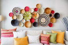 10 идей по оформлению пустой стены | Sweet home