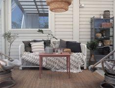 Hur man bygger en planteringslåda Porch Swing, Outdoor Furniture, Outdoor Decor, Entryway Bench, Pergola, Ikea, Studio, Home Decor, Entry Bench