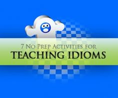 Idioms are an important part of language learning and are something that students often struggle with. The idiom worksheets in this section are some of the ways teachers have found to address this to