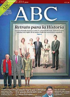 La portada de ABC del jueves 4 de diciembre