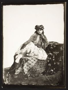A young Jewish woman in Kurdistan, ca. 1880 by Antoin Sevruguin